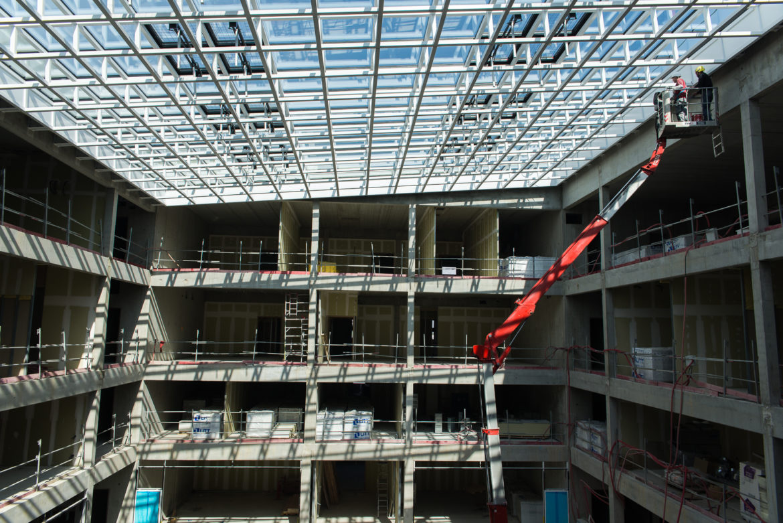 Centrale Supelec Paris-Saclay-suivi de chantier